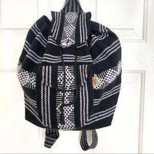 Aztec Drawstring Backpack